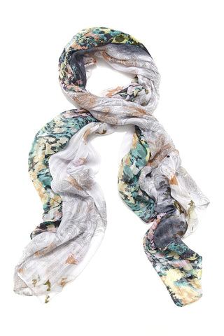 Twilight Floral Scarf