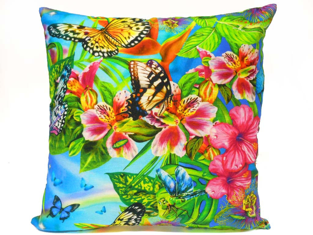 Butterfly Paradise Cushion