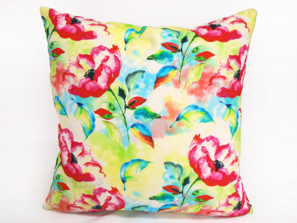 Spring Time Floral Cushion