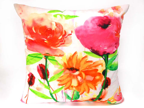 Spring Blooms Cushion