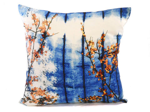 Willow Denim Wash Cushion