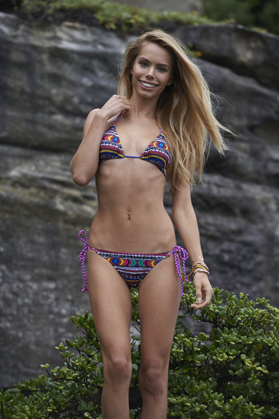 Cleo Aztec Bikini Midnight Party