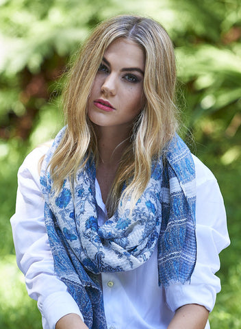 Tilly Bud Floral Scarf