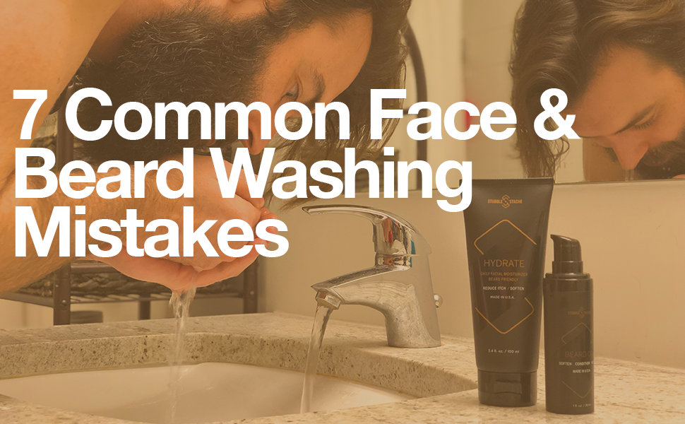 7 Common face and beard washing mistakes