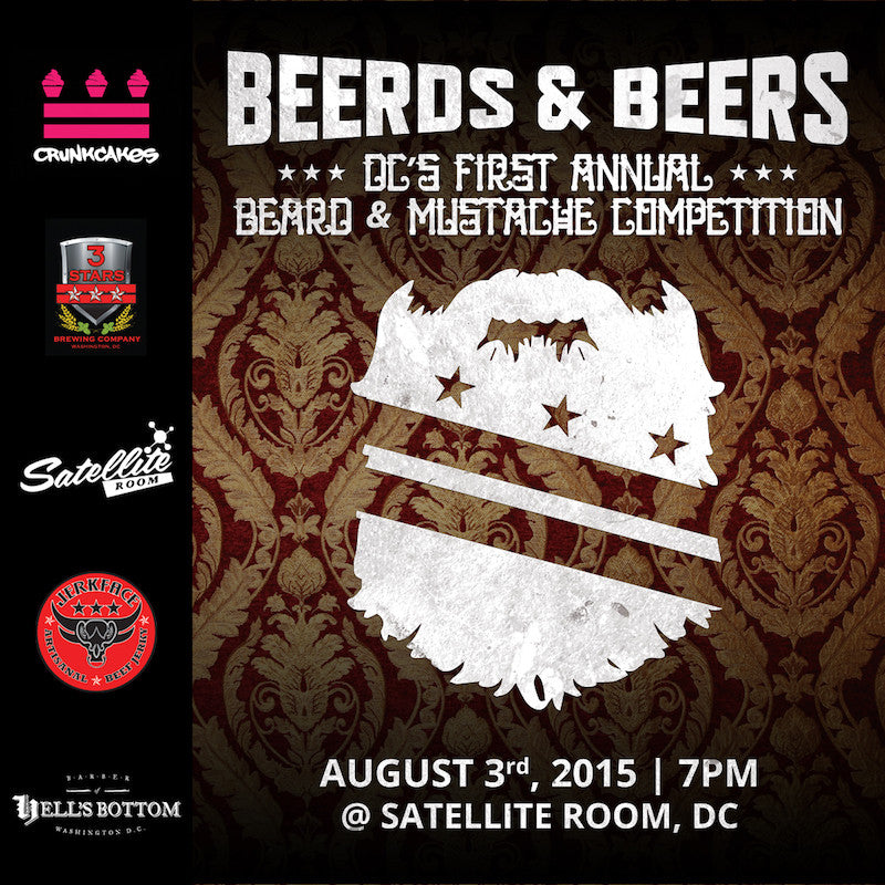 Washington, DC's First Annual Beard & Mustache Competition