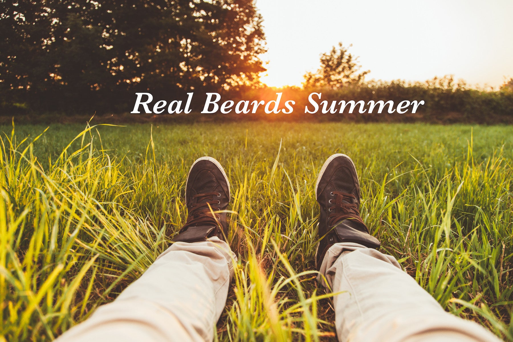 Real Beards Summer: How to Grow and Maintain A Summer Beard