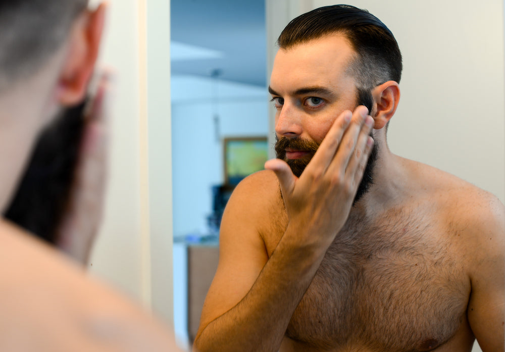 How to use and apply beard oil - stubble + 'stache