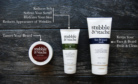 Beard Care Products | stubble & 'stache
