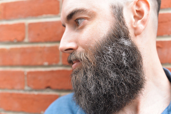 how to stop dry skin in beard