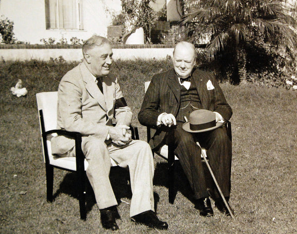 FDR meeting with Churchill