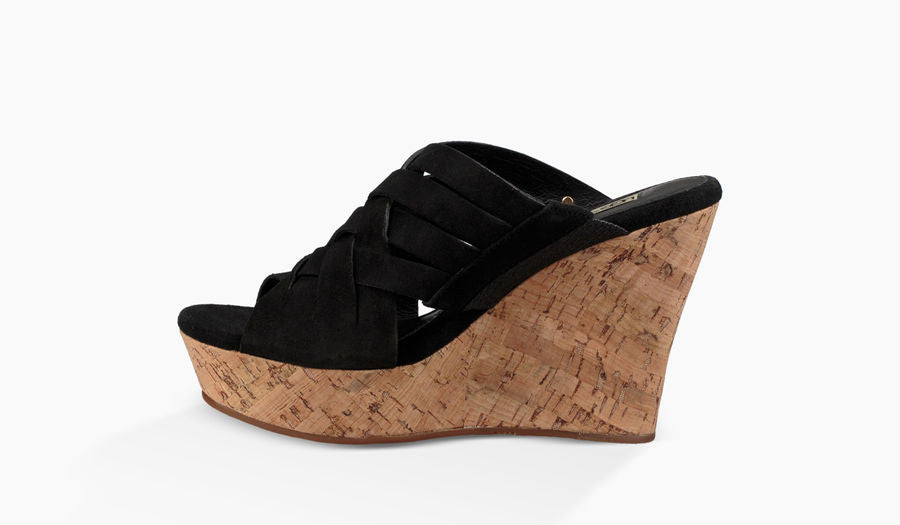 UGG Australia Women's Marta Wedge | Black