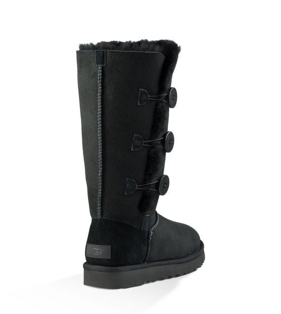 UGG Australia Women's Bailey Button Triplet II | Black