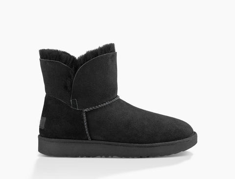 UGG Australia Women's Classic Cuff Mini Boot | Black