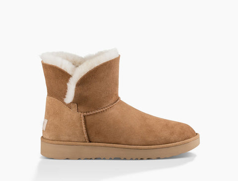 UGG Australia Women's Classic Cuff Mini Boot | Chestnut
