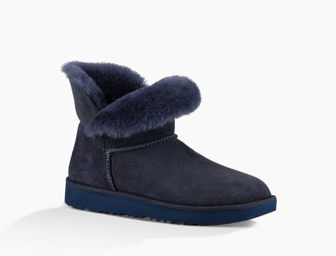 UGG Australia Women's Classic Cuff Mini Boot | Imperial Blue