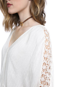 Free People Runaway Top | Ivory