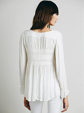 Free People Blue Bird Top | Pinnacle Malibu