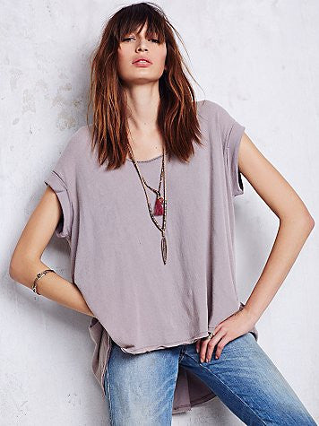 Free People We The Free Kristin Tee | Fawn | Sale