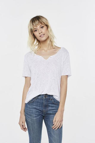 Project Social T S/S Suzie Shirtall Gauzy Knit Short Sleeve Tee