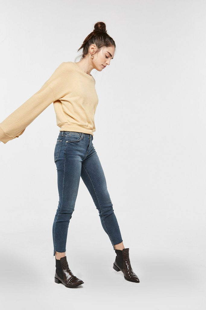 Project Social T Louis Split Sleeve | H Mustard