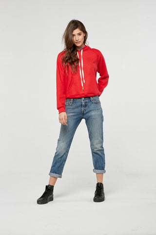 Project Social T Tyler Hoodie | Parisian Red