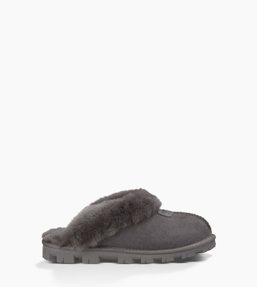 28bef0b8001 UGG Australia Women's Coquette Slipper | Chestnut, Black | Pinnacle ...