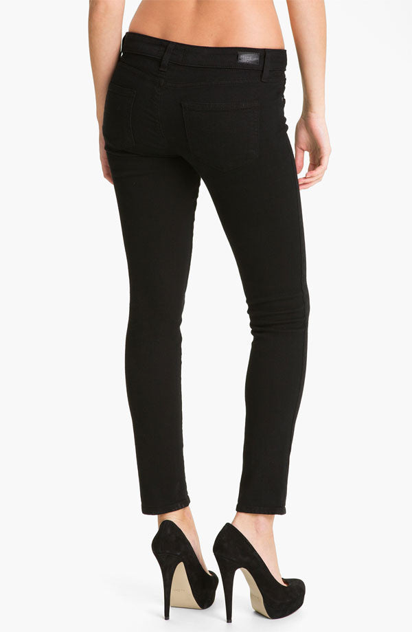 Paige Denim Skyline Ankle Peg | Black Ink | Pinnacle Malibu