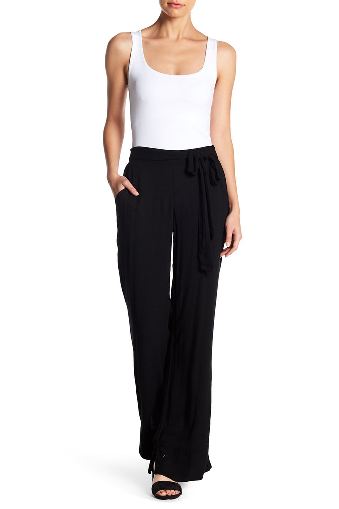 On The Road Piper Wide Leg Pant | Black