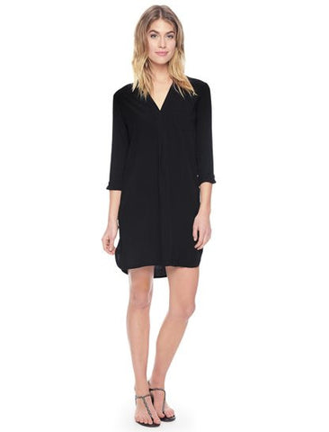 Splendid Shirt Dress | Black | Pinnacle Malibu