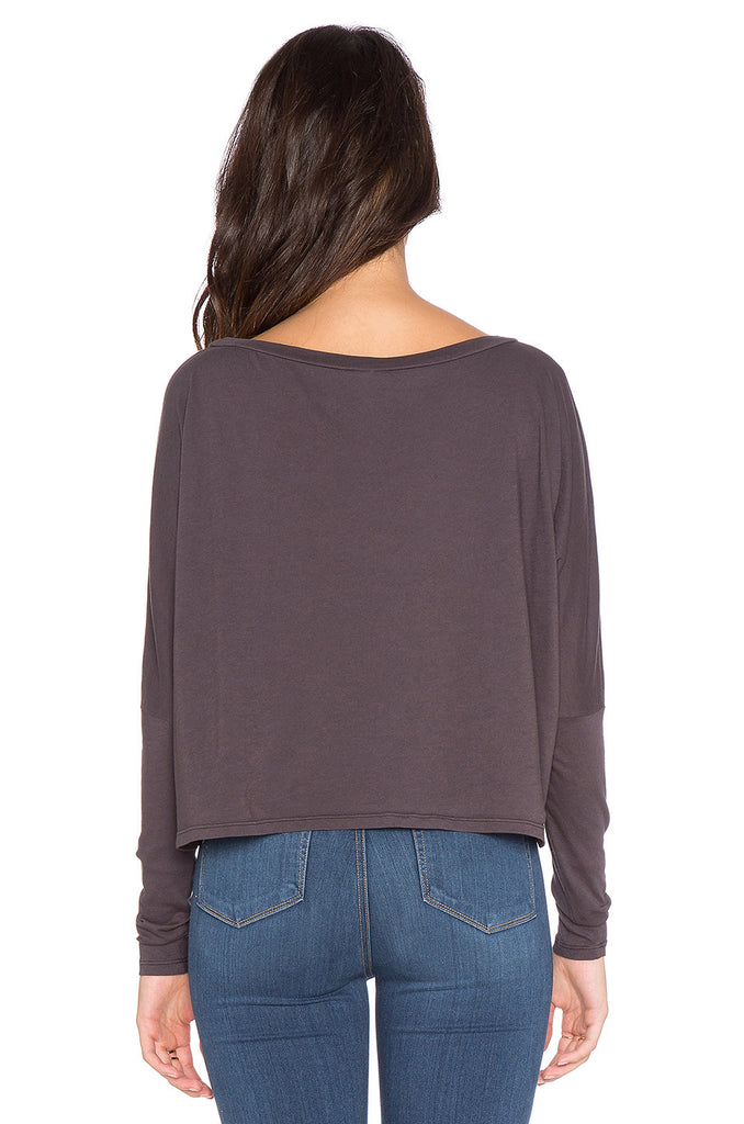 Bobi Long Sleeve Crop Tee | Mood