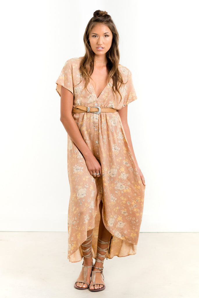 Saltwater Luxe Bombshell Maxi Dress | Rose