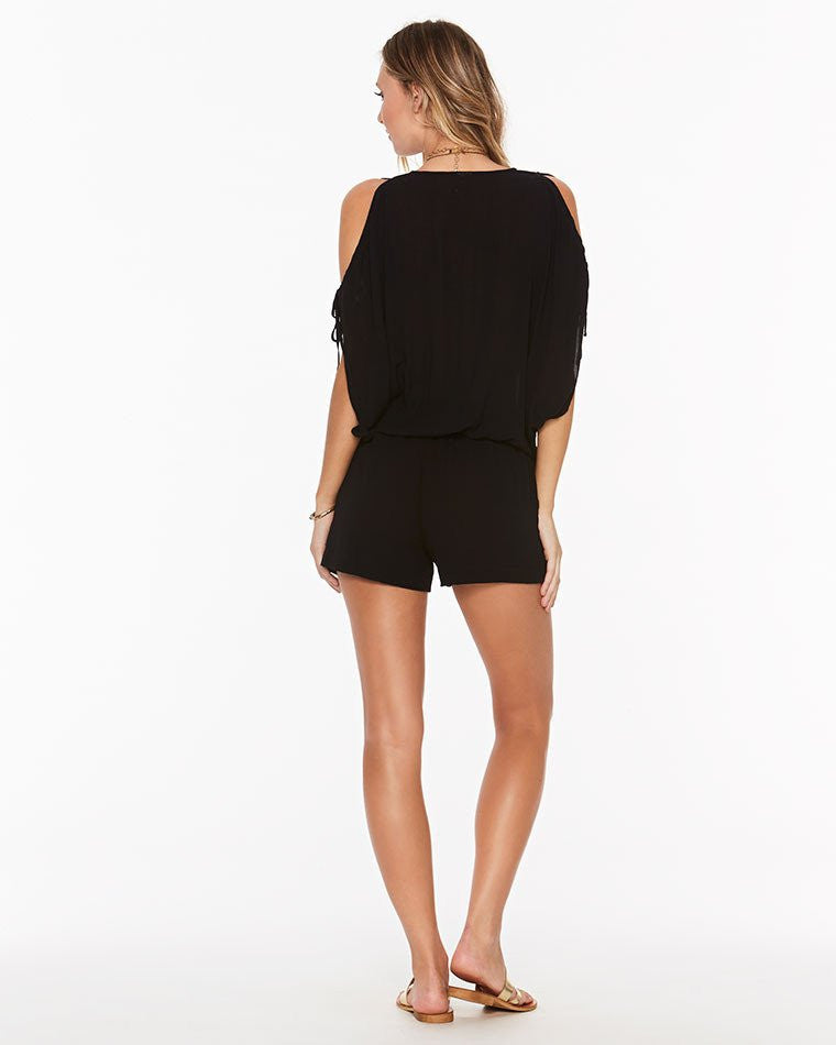 L*Space Daylight Romper | Black