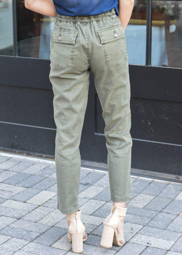 Level 99 Shannon Utility Trouser | Cedar