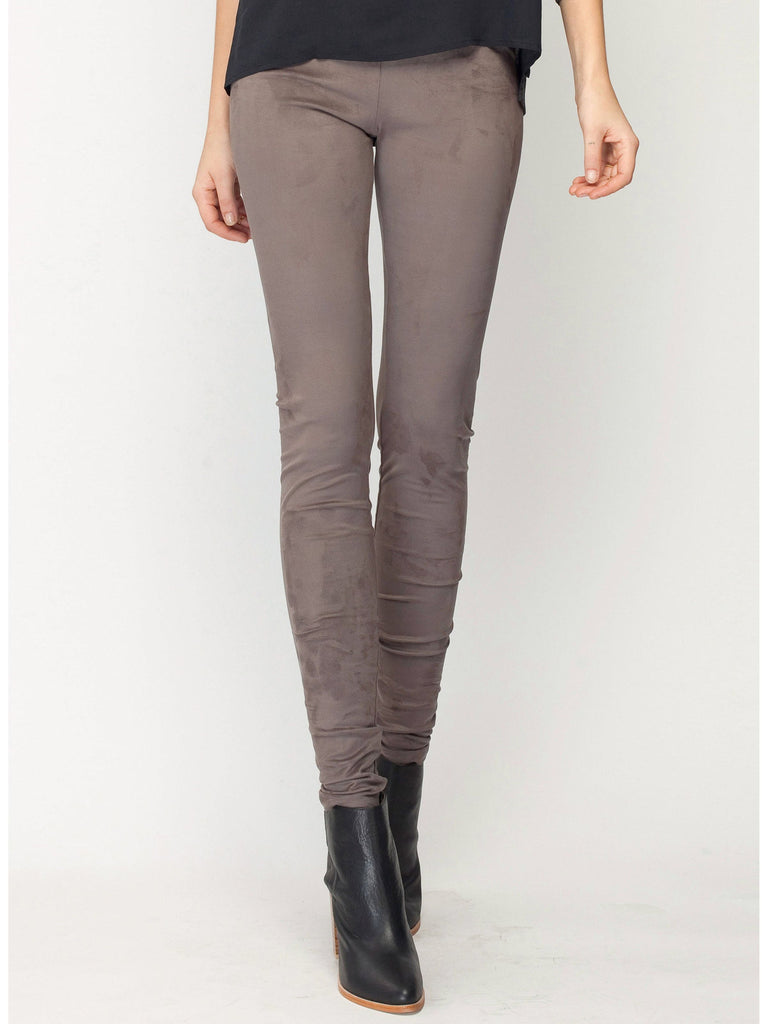 Gentle Fawn Eastwood Suede Legging | Black | Loden Grey