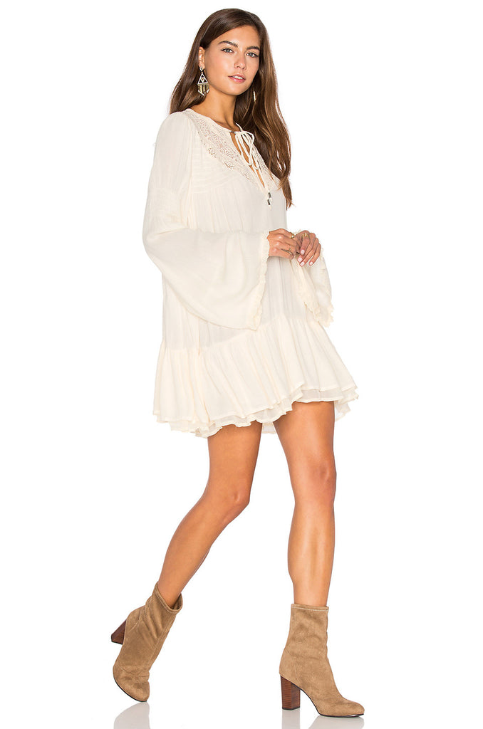 Free People One Night Victorian Tunic | Ivory