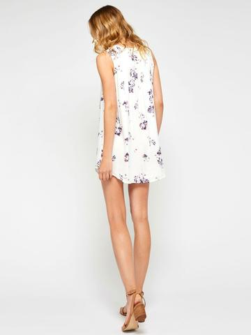 Gentle Fawn Belinda Dress | White Asyssum Foliage