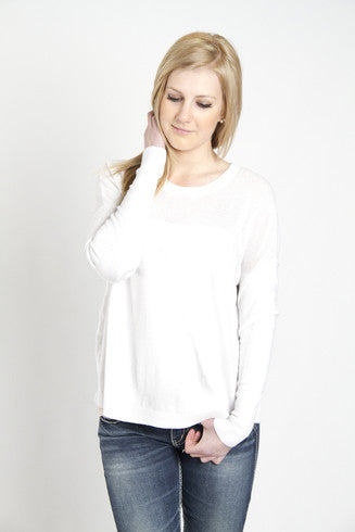 Kersh Side Slit Pullover