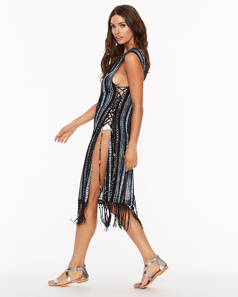 L*Space Moon Chaser Caravan Coverup | Midnight Blue