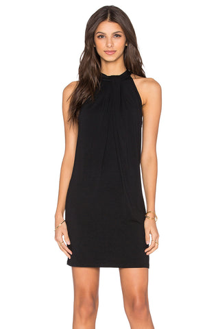 Michael Stars Sasha Modal Sleeveless Halter Dress | Nocturnal