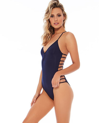 L*Space Wild Side One Piece | Midnight Blue