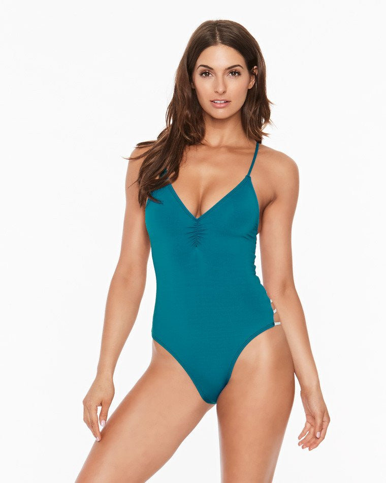 L*Space Wild Side One Piece | Mediterranean