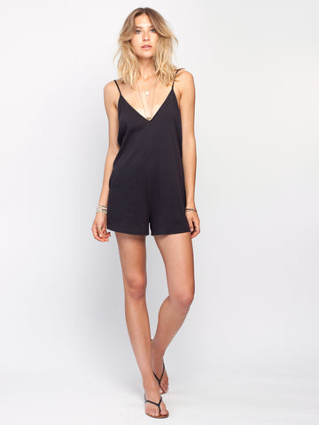 Gentle Fawn Sicily Romper | Black