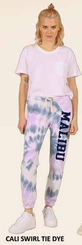 MALIBU SWEATS The Tie Dye Collection | Ocean Drive super soft fleece sweatpants