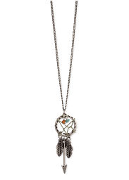 "Zad ""Long Dreamcatcher Necklace"""