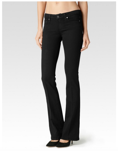 Paige Denim Skyline Bootcut | Black Shadow Transcend