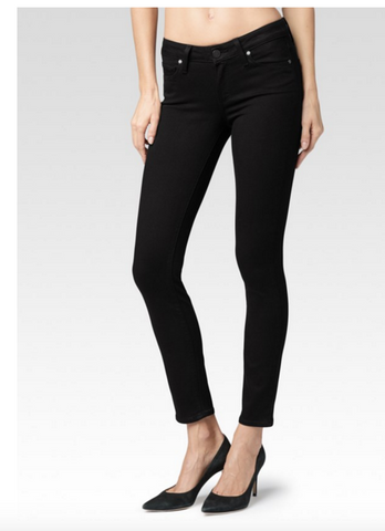 Paige Denim Verdugo Ankle | Black Shadow Transcend