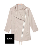 Olive + Oak Rainy Day Love Jacket | Black