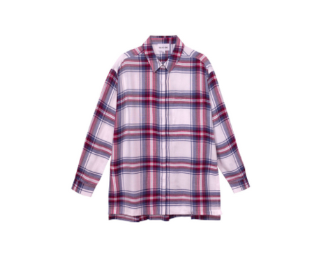 Olive + Oak Venus Plaid Shirt | Dried Rose