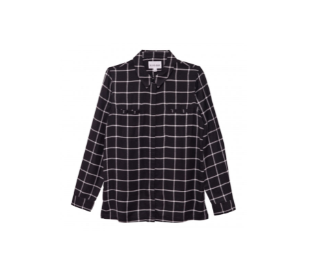 Olive + Oak Eden Button Down | Black Combo