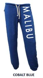 MALIBU SWEATS | Ocean Drive super soft heather fleece Sweatpants